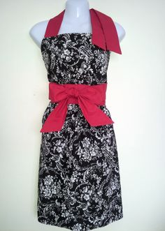Full Apron  Ladies Only Cocktail Hour  Black by ChicChefBoutique, $32.00