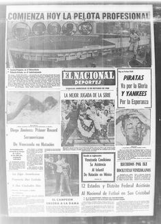 Hoy comienza la fiebre del beisbol Publicado el 12 de octubre de 1960