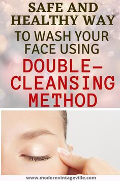 When we wash our face, we always cause some damage to our skin.  Mainly we remove some natural oil produced by oil glands; and we disturb pH balance.   The extend of the damage depends on HOW we wash our face and what PRODUCTS we use.    Double-cleansing method is a method that allows you to clean your face, remove oil excess, dirt and impurities without stripping off natural oils, disturbing skin pH balance and not ruining your skin.  Your skin stays glowing, clean and healthy. Tooth Caries, Get Rid Of Warts, Remove Warts, What Causes Warts, What Causes Tooth Decay, Warts On Face, Skin Growths, How To Prevent Cavities, Homemade Skin Care