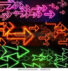 neon arrow - Google Search