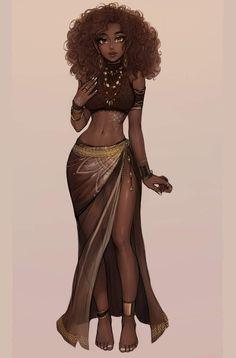 Coco Commission by Matilda-Fiship on DeviantArt Art Black Love, Black Girl Art, Black Is Beautiful, Black Girl Magic, Black Girls Drawing, Beautiful Pictures, Black Art Painting, Black Artwork, Black Girl Cartoon