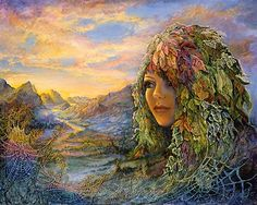 """Earth Witch:  #Earth #Witch ~ """"Dew Drop Dawn,"""" by Josephine Wall."""