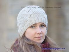 Looking for your next project? You're going to love Vanilla Cloud Adult Hat by designer Tanya Matsiuk.