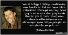 Some of the biggest challenge in relationships come from the fact that most…