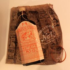 BOTTLE - PACKAGE - TYPOGRAPHY