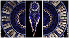 Blue Dream Catcher Large Dreamcatcher Gray Dream сatcher gift idea dreamcatcher boho dreamcatcher wall handmade gift silver Dreamcatchers by DreamcatcherShopUA on Etsy Grand Dream Catcher, Blue Dream Catcher, Large Dream Catcher, Dream Catchers, Divinity Original, Radiation Exposure, Spiritual Development, Love And Respect, Ceramic Beads