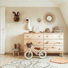 Baby Boy Rooms, Baby Cribs, Nursery Furniture, Kids Furniture, Baby Room Decor, Nursery Decor, Deco Jungle, Nursery Inspiration, Dresser As Nightstand
