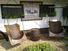 Rustic Style, Home Improvement, Neon, House Design, Outdoor Decor, Diy, Inspiration, Home Decor, Gardening
