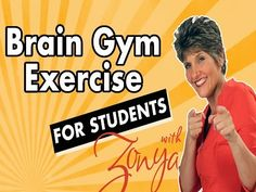 Brain Gym Exercise for Students - YouTube - simple short sequence - aimed at preparing students for tests - but useful at any time to burn energy and activate the brain for focus.