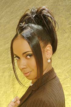 2000s Hairstyles, Hairstyles For Gowns, Girls Natural Hairstyles, Baddie Hairstyles, Black Girls Hairstyles, Braided Hairstyles, School Hairstyles, Updo Hairstyle, Braided Updo