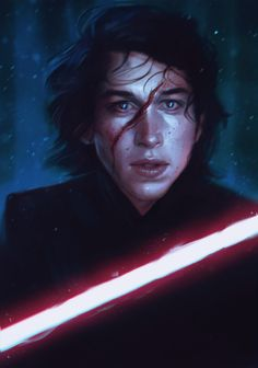 Kylo Ren--I'm not even sorry about how many picture of him I'm pinning...he's SUCH a great character! So complicated....and there IS still light in him...