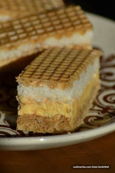 Katica pita ~ Recepti i Ideje No Bake Desserts, Delicious Desserts, Dessert Recipes, Yummy Food, Bosnian Recipes, Croatian Recipes, Rodjendanske Torte, Kolaci I Torte, Pillsbury Recipes