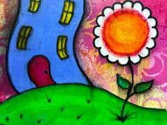Art Journal Page 206     #ozegran,#mixedmedia,#reeves,#posca,#artjournal,#artjournalpage,#whimsy,#whimsical,#liquitexbasics,#fudeball,#reeves,