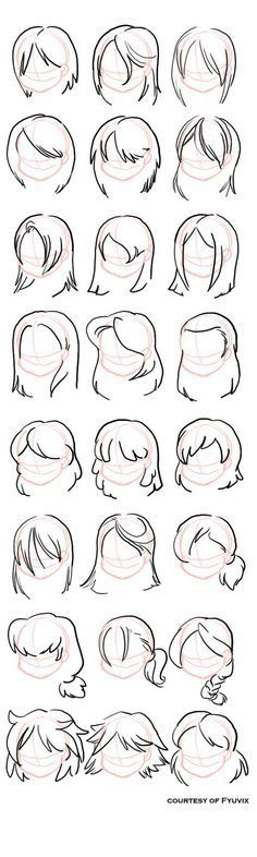 Different cartoon (ish) female hair styles design reference, drawing reference, hair reference Hair Reference, Art Reference Poses, Design Reference, Drawing Reference, Pencil Art Drawings, Art Drawings Sketches, Cartoon Drawings, Easy Drawings, Drawing Techniques