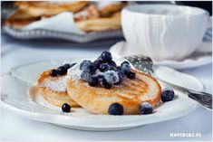 placki jaglane Pancakes, Lunch Box, Sweets, Breakfast, Ethnic Recipes, Food, Health, Sweet Pastries, Meal