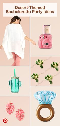 Bring desert vibes to your destination bachelorette party with fun outfits gifts & decor ideas. Bring desert vibes to your destination bachelorette party with fun outfits gifts & decor ideas. Desert Bachelorette Party, Bachelorette Party Planning, Bachelorette Weekend, Wedding Planning, Perfect Wedding, Dream Wedding, Kaftan, Party Accessories, My New Room