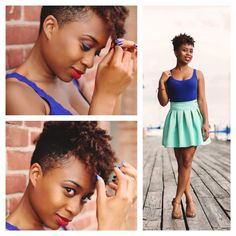 Gorgeous #TWA #naturalhair Loved By NenoNatural! #curlyhair #kinkyhair #nenonatural #vlogger #blogger #hairblogger