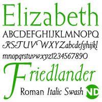 Elizabeth ND Roma: Elizabeth Friedlander/Andreu Balius, 1938/2005