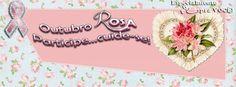 Mensagens Lindas: OUTUBRO ROSA... capas pra seu FACEBOOK!