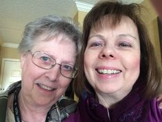 With my friend, another author, Marsha Hubler! She's also a great hostess.