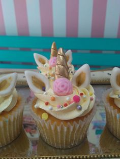 Princess Cakes, Unicorn Cupcakes, Baking Party, Theme Ideas, Foodies, Birthday Parties, Desserts, Life, Arch