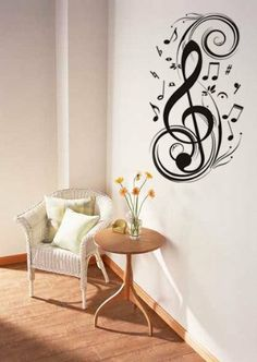 DIY Black Sticker Treble Clef - Musical or Music Note Wall Decals Dorm Living Dining Room Bathroom Home Decor Decoration coavas,http://www.amazon.com/dp/B00IXHK2JQ/ref=cm_sw_r_pi_dp_s4sitb1B853BY5PW