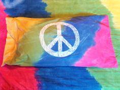 Groovy Hippie Bed Sheet Set | FiberArtsy.com