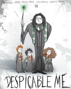 HP and Despicable Me