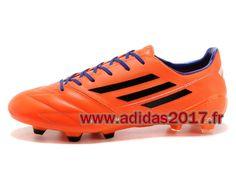 Boutique Adidas Homme Soccer F50 AdiZero TRX FG Cleats Orange F327891