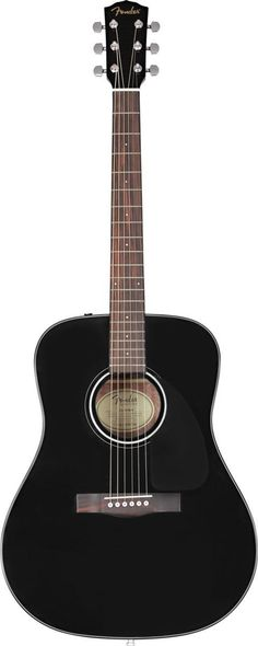 Fender CD-60 Dreadnought Acoustic Fender's CD-60 dreadnought is an absolutely beautiful acoustic guitar that stacks up to instruments with much higher price tags! It features a toneful spruce top and