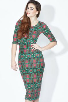 PH14 Poppy Lux Dakota Dress - Sugarhill Boutique