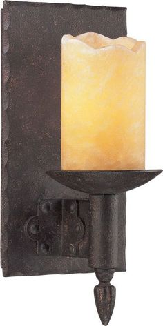 View the Troy Lighting B2581 Academy 1 Light Candle-Style Wall Sconce at LightingDirect.com.