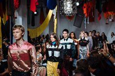 At Calvin Klein Dressing for Dystopia https://www.nytimes.com/2017/09/08/fashion/calvin-klein-raf-simons-new-york-spring-2018.html?partner=IFTTT | Visit http://www.omnipopmag.com/main For More!!! #Omnipop #Omnipopmag