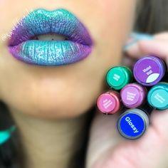 CeraVe Moisturizing Cream for Normal to Dry Skin Ombre Lips, Purple Lipstick, Lipstick Colors, Lipstick Names, White Lipstick, Lipsense Lip Colors, Lip Gloss Colors, Lip Sence, Kiss Beauty