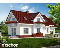 Projekat kuće sa potkrovljem i garažom – Archon 6 Mansions, House Styles, Home Decor, Home, Decoration Home, Manor Houses, Room Decor, Villas, Mansion