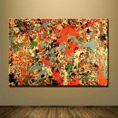 [PRINT CANVAS] Inspiration by Jackson Pollock I – MonkeydeArt