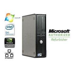 Dell Optiplex 760 Dual Core 3.0Ghz, 4 GB, 160GB HD, Windows 10 Home