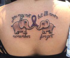 Tattoo for my Grandma with Alzheimer's. @angelamaldonado