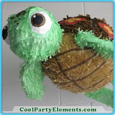 how to make a squirt turtle pinata | Squirt Turtle Pinata4