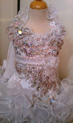 Stunning Glitz pageant dress from Royalty Designs www.royaltydesigns.net