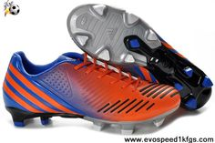 Buy Latest Listing Adidas Predator LZ TRX FG Orange-Blue-Black Soccer Shoes Shop