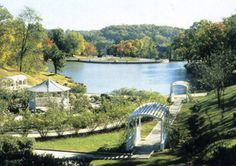 Krug Park in all it's glory in the summertime. Band concerts used to be held on Sunday nights at the bowl on the top of the hill from which this picture was taken. Saint Joseph Missouri, St Joseph, Sunday Night, Wedding Locations, Concerts, Summer Time, Parks, Places To Go, Career