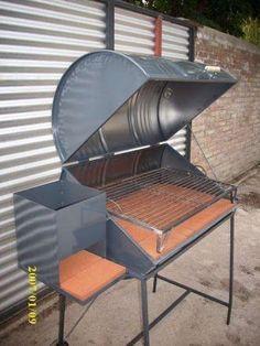 10 projets r cup pour le jardin tonneaux barbecue et r cup. Black Bedroom Furniture Sets. Home Design Ideas