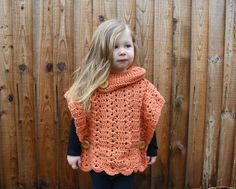 This stylish pullover pattern for toddlers has been designed with a roll neck and some super big buttons to hold everything together in place. It's more than adorable it's super cute! T…
