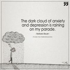 The Dark Cloud Of Anxiety and Depression is Raining on My Parade. - https://themindsjournal.com/the-dark-cloud-of-anxiety-and-depression-is-raining-on-my-parade/
