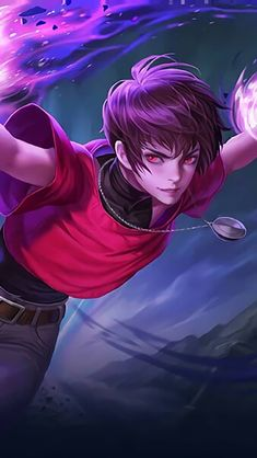 Dyrroth Orochi Chris KOF Mobile Legends HD Mobile, Smartphone and PC, Desktop, Laptop wallpaper resolutions. Mobile Wallpaper Android, Game Wallpaper Iphone, Mobile Legend Wallpaper, Hero Wallpaper, Bruno Mobile Legends, Miya Mobile Legends, Manga Japan, Hero Fighter, Game Character