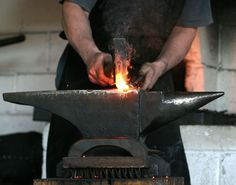 A blacksmith in the north