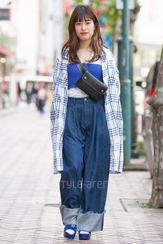 Shibuya Tokyo, Tokyo Street Style, Street Snap, Japanese Street Fashion, Jun, Fashion News, Overalls, Pants, Handmade