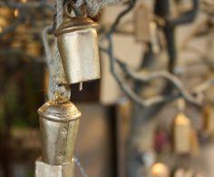 Baumschmuck, Glocken aus Metall in Messington - Christmas tree ornaments, bells