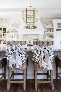 Our Home for Christmas... - Pink Peonies by Rach Parcell